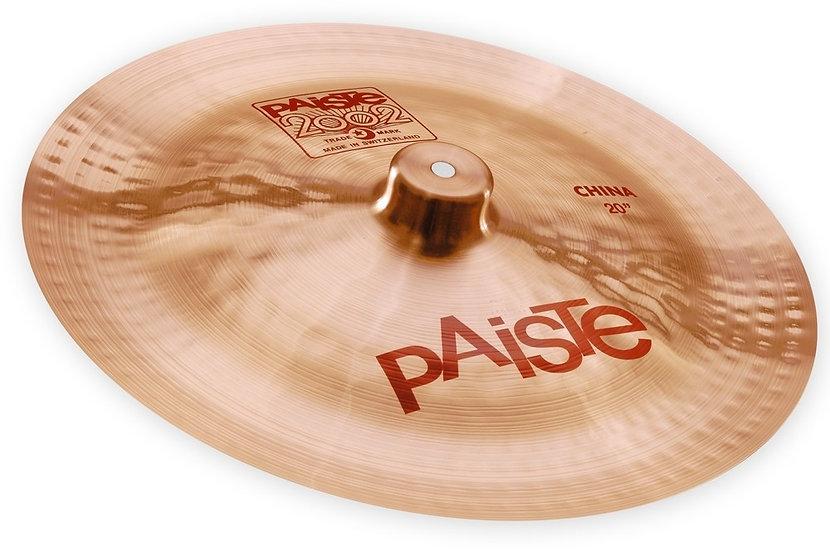 """Paiste 20"""" 2002 China Cymbal"""
