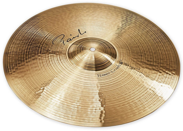 "Paiste 16"" Signature Power Crash Cymbal"