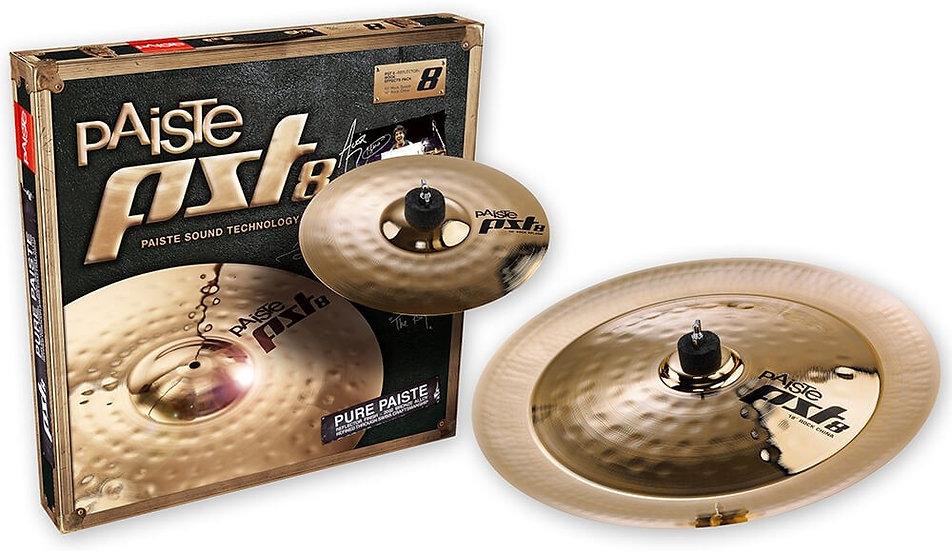 Paiste PST 8 2pc Rock Effects Cymbal Set