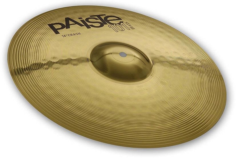 "Paiste 14"" 101 Brass Crash Cymbal"