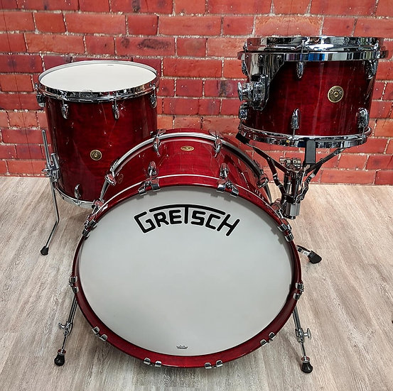 Gretsch Broadkaster 3pc Shell Pack Rosewood Gloss
