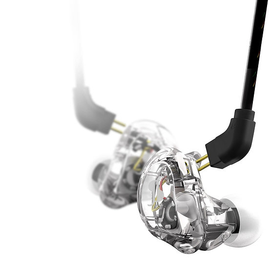 Stagg SPM-235 TR In Ear Dual Driver Stage Monitors Transparent