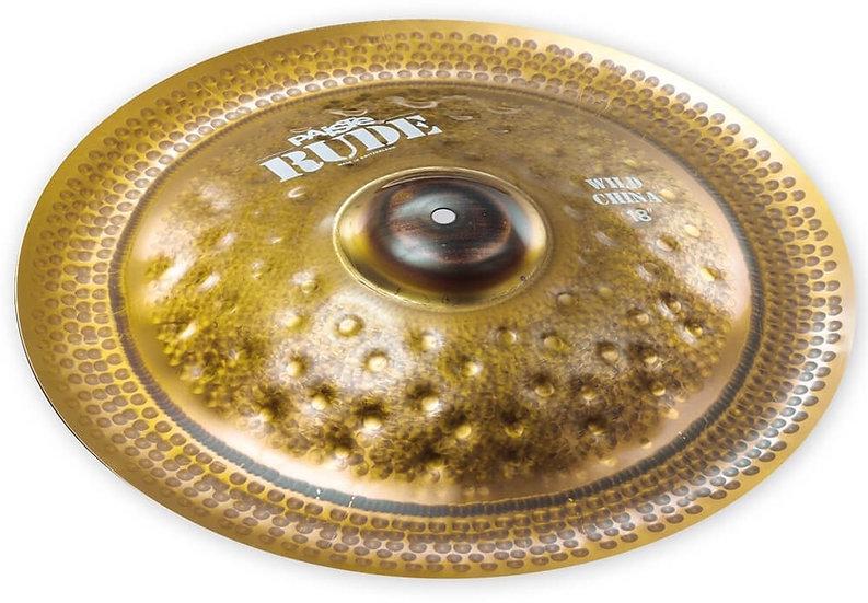 "Paiste 18"" RUDE Wild China Cymbal"
