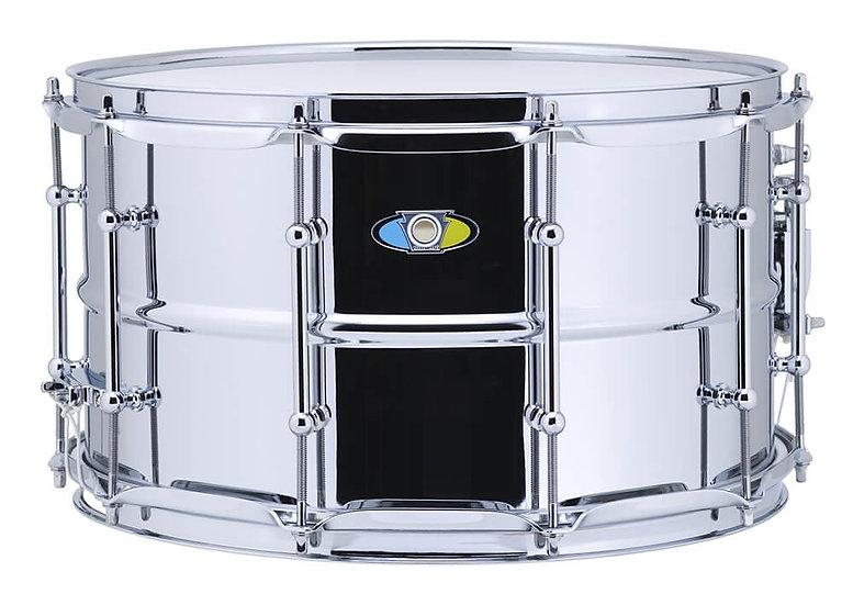 "Ludwig Supralite Steel Snare Drum - 14"" x 8"""