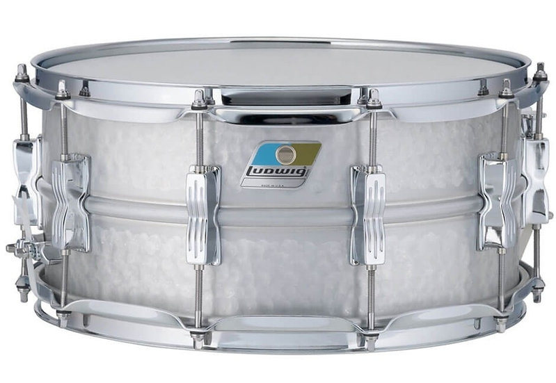 "Ludwig 14"" x 6.5"" Hammered Acrolite Snare Drum"