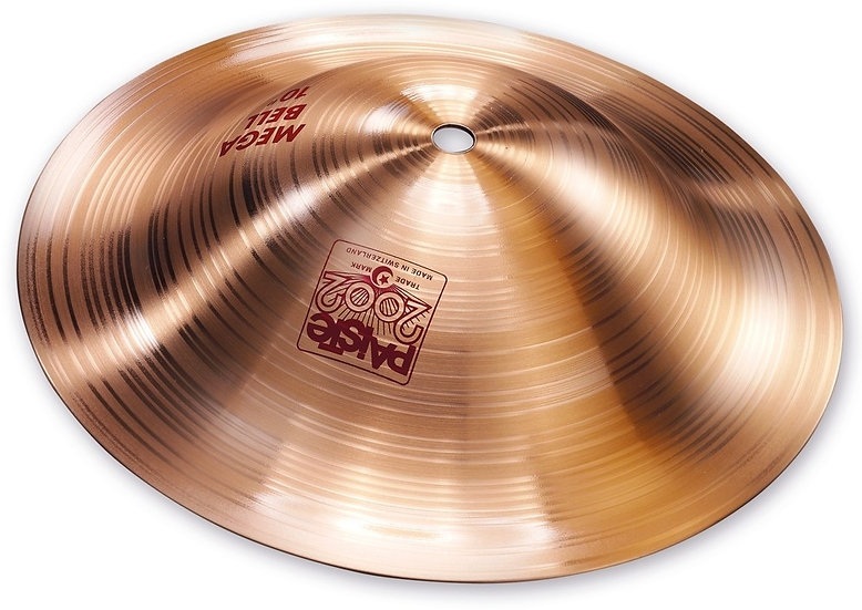 "Paiste 10"" 2002 Mega Bell Cymbal"