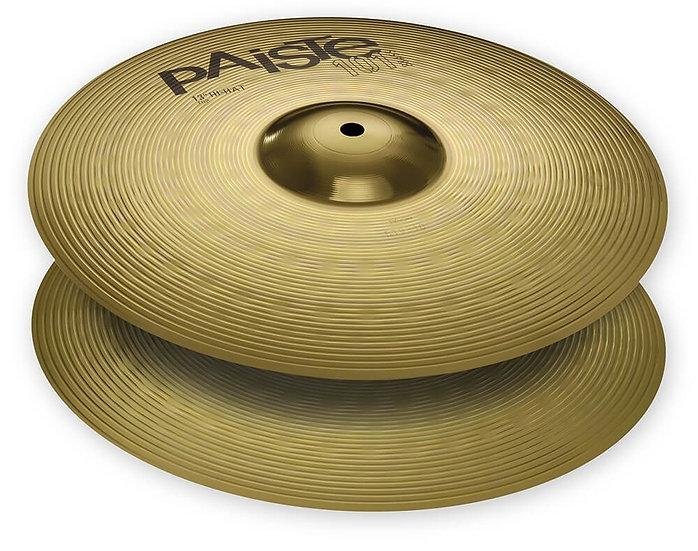 """Paiste 13"""" 101 Brass Hi-Hat Cymbals"""
