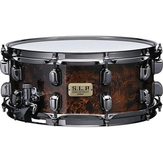 "Tama S.L.P. G-Maple 14"" x 6"" Snare Drum Kona Mappa Burl"