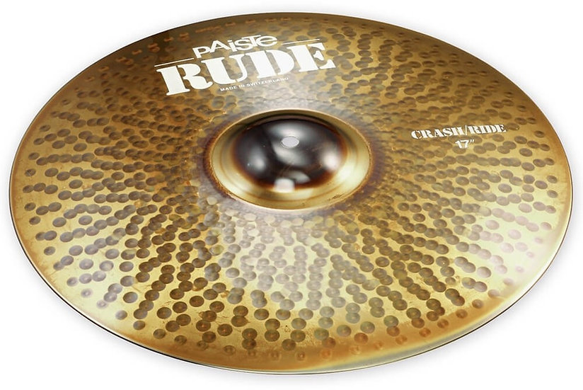 "Paiste 17"" RUDE Crash Ride Cymbal"