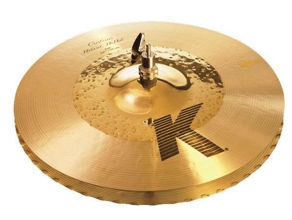 """Zildjian K Custom Hybrid 14.25"""" Hi Hats"""
