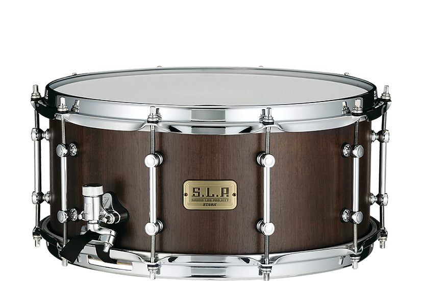 Tama SLP Walnut Snare Drum