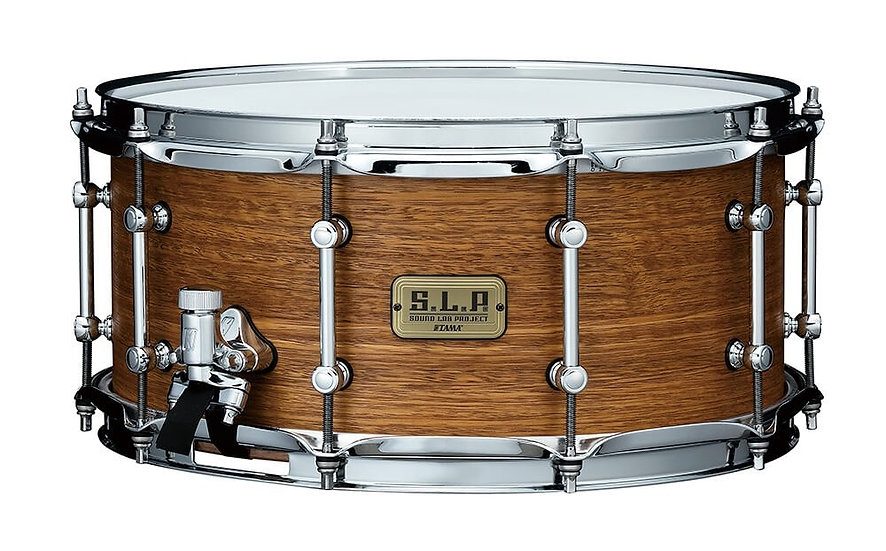 """Tama 14"""" x 6.5"""" SLP Bold Spotted Gum Snare Drum"""