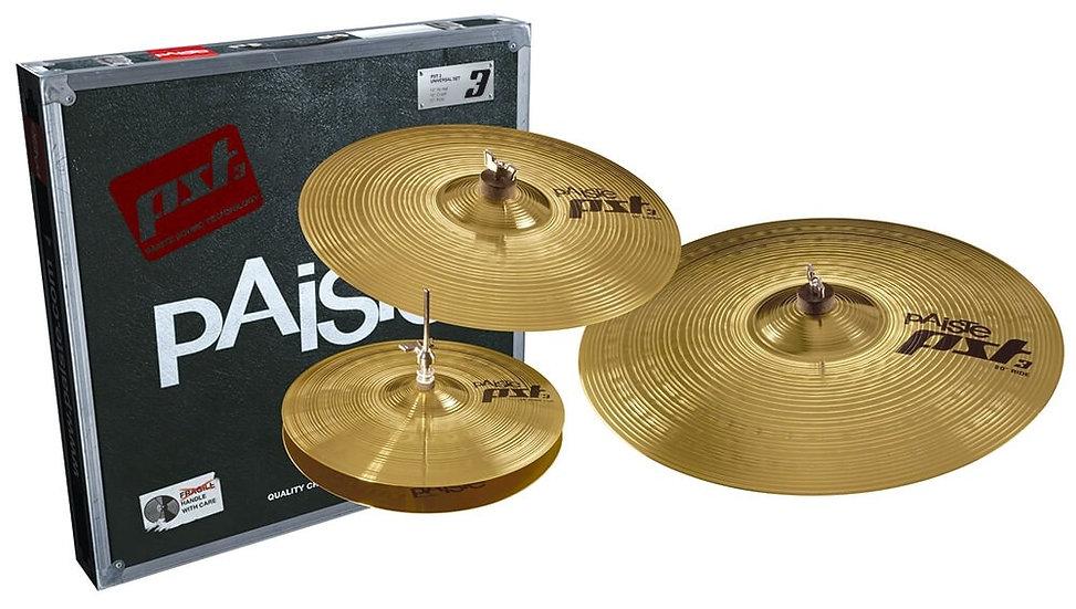 Paiste PST3 3pc Universal Cymbal Set