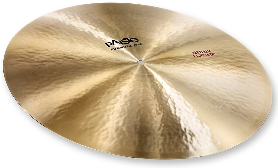 "Paiste 20"" Formula 602 Classic Sounds Medium Flatride Cymbal"