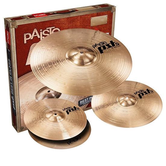 Paiste PST 5 3pc Rock Cymbal Set