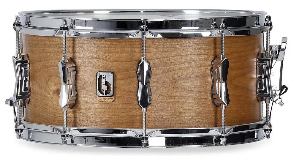 "British Drum Company Big Softy 14"" x 6.5"" Snare Drum"