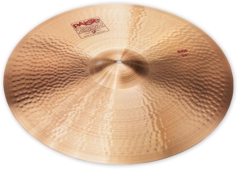 """Paiste 24"""" 2002 Ride Cymbal"""
