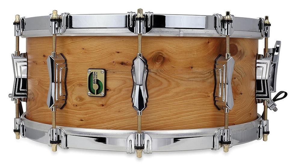 "British Drum Company Archer 14"" x 6"" Snare Drum"