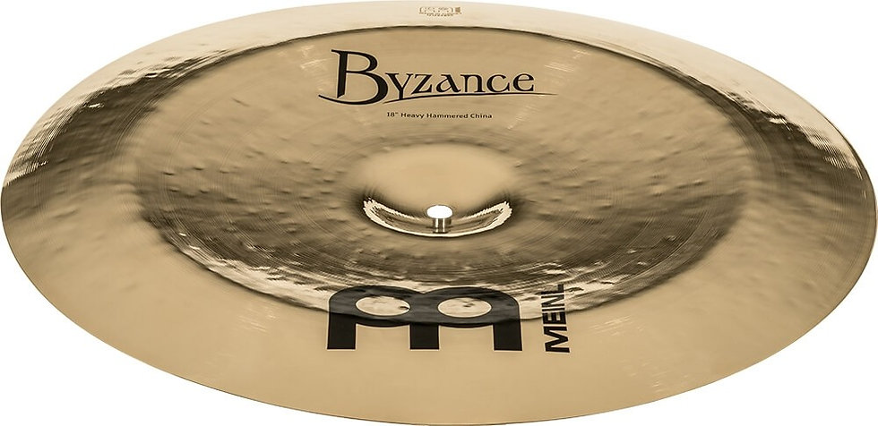 """Meinl Byzance Brilliant 18"""" Heavy Hammered China Cymbal"""