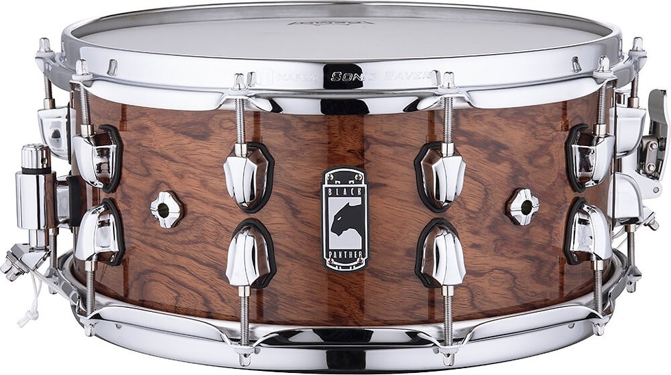 """Mapex 14"""" x 6.5"""" Black Panther Shadow Snare Drum"""