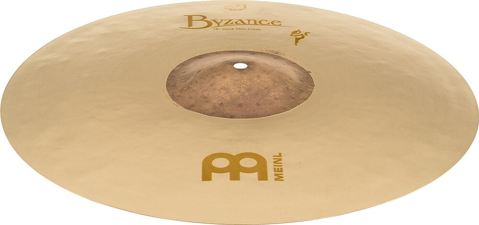 "Meinl Byzance Benny Greb Vintage 18"" Thin Sand Crash Cymbal"