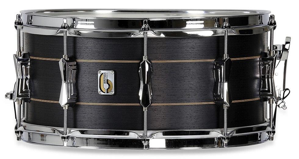 "British Drum Company Merlin 14"" x 6.5"" Snare Drum"