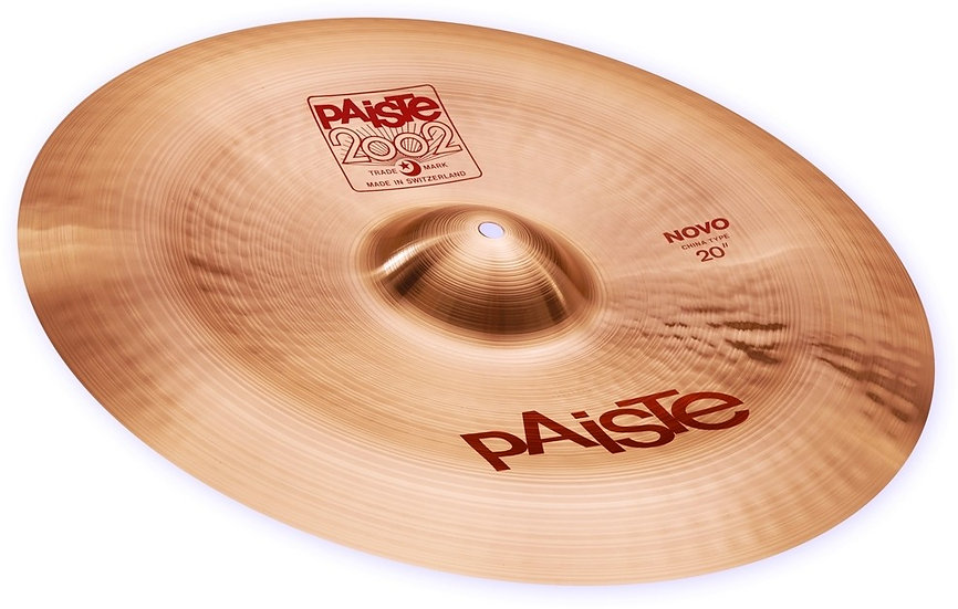 "Paiste 20"" 2002 Novo China Cymbal"