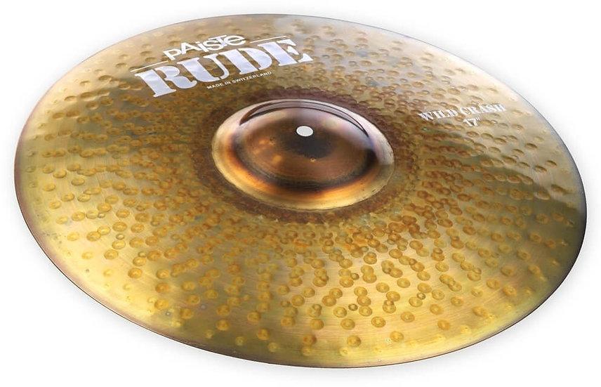 "Paiste 17"" RUDE Wild Crash Cymbal"
