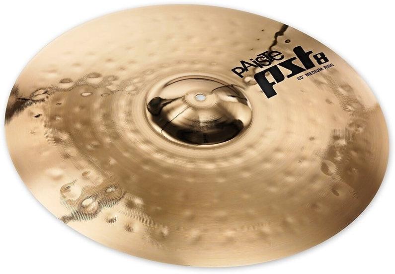 "Paiste 20"" PST 8 Reflector Medium Ride Cymbal"