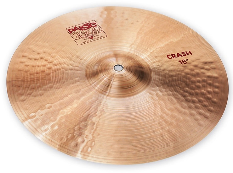 "Paiste 16"" 2002 Crash Cymbal"