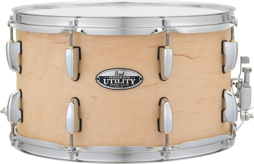 "Pearl 14"" x 8"" Modern Utility Matte Natural Maple Snare Drum"