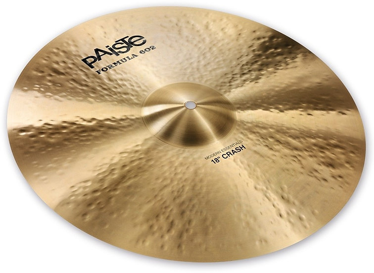 "Paiste 18"" Formula 602 Modern Essentials Crash Cymbal"