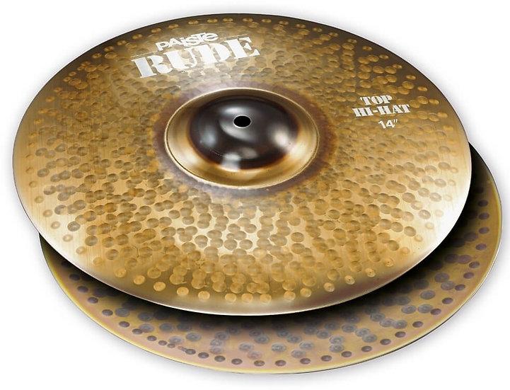 "Paiste 14"" RUDE Hi-Hat Cymbals"