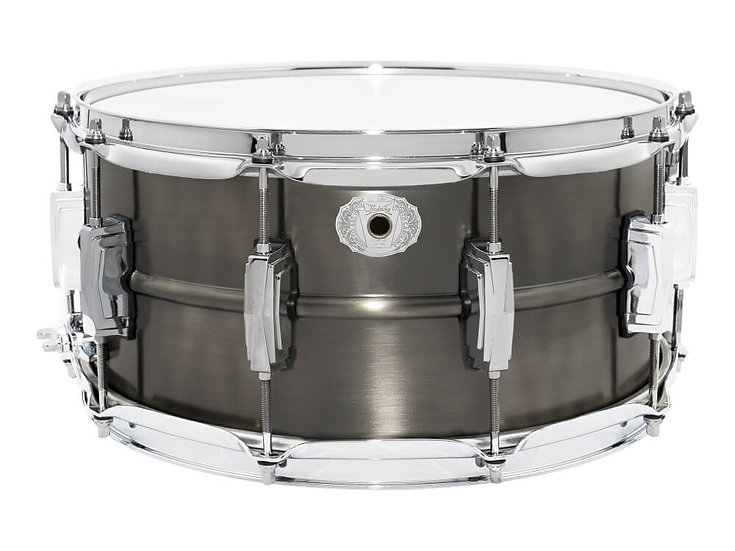 "Ludwig 14"" x 6.5"" Pewter Copperphonic Snare Drum"