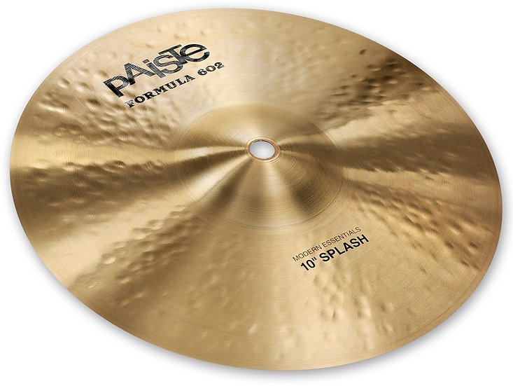 "Paiste 10"" Formula 602 Modern Essentials Splash Cymbal"