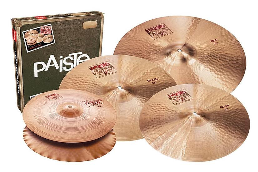 Paiste 2002 Classic Ltd Edition Cymbal Set