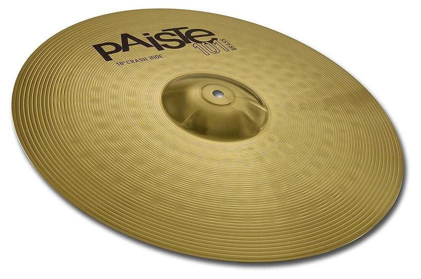 "Paiste 18"" 101 Brass Crash Ride Cymbal"