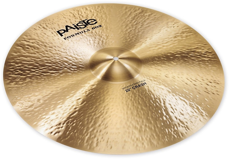 "Paiste 22"" Formula 602 Modern Essentials Crash Cymbal"