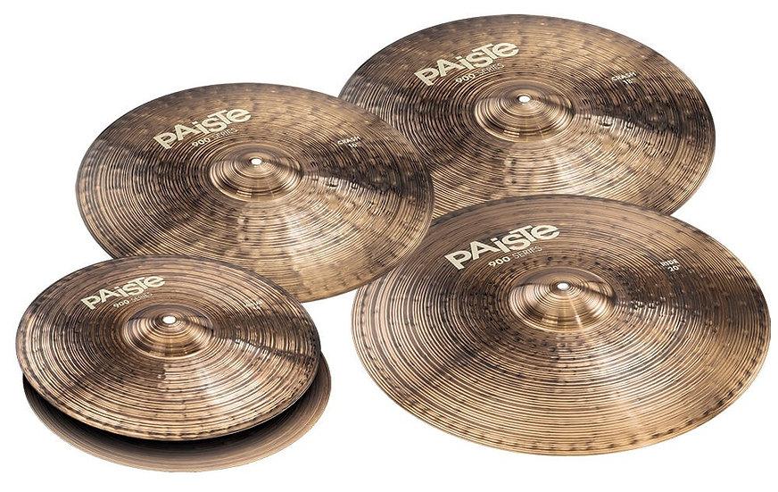 Paiste 900 Series Mix Crash Cymbal Set