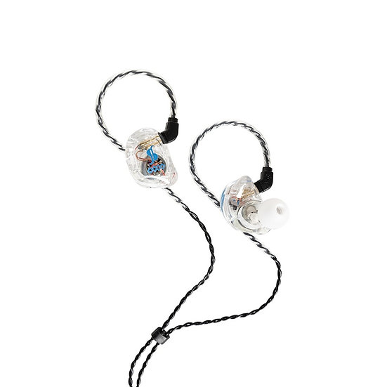 Stagg SPM-435 TR In Ear Quad Driver Stage Monitors Transparent