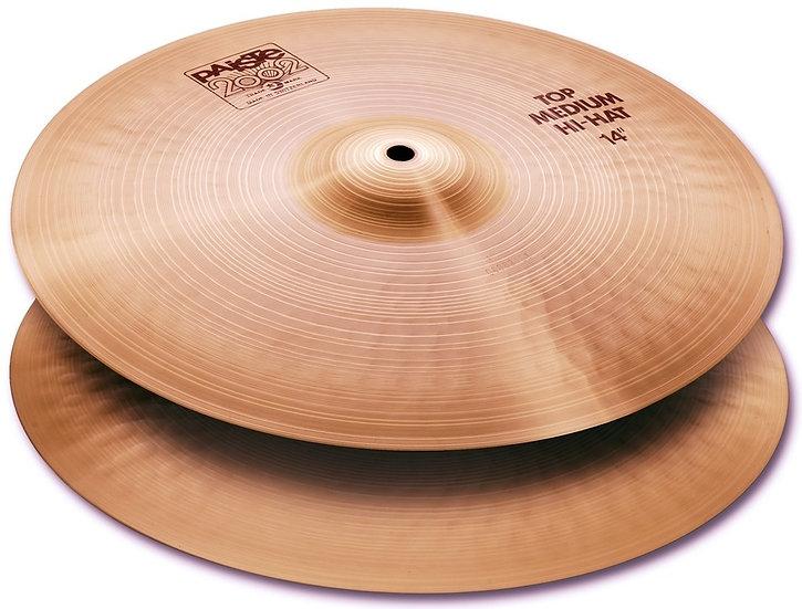"Paiste 14"" 2002 Medium Hi-Hat Cymbals"