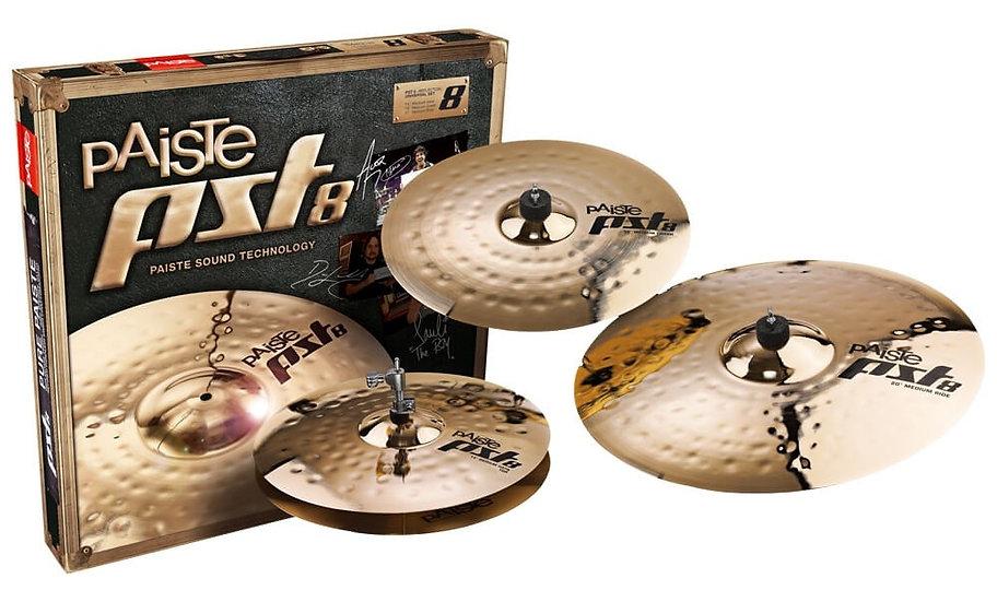 Paiste PST 8 3pc Universal Cymbal Set