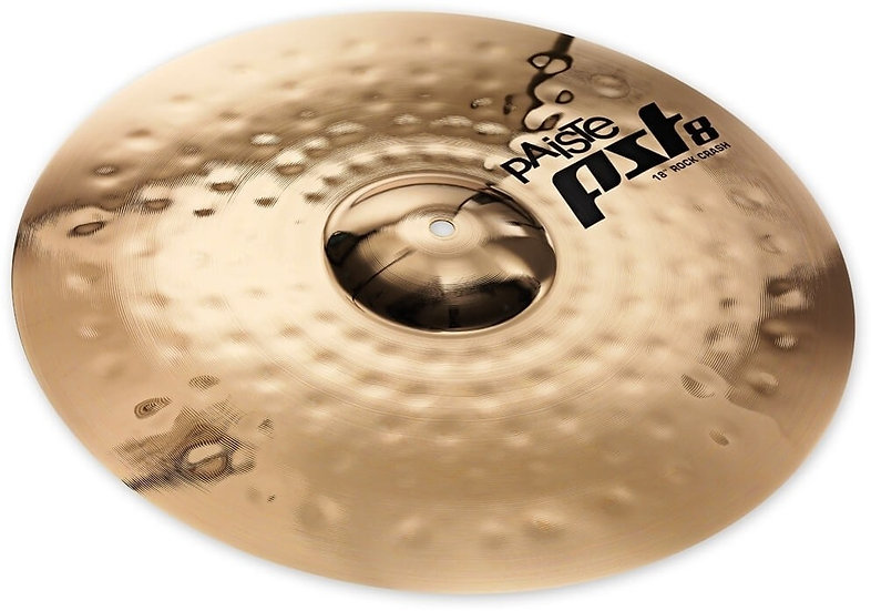 "Paiste 18"" PST 8 Reflector Rock Crash Cymbal"