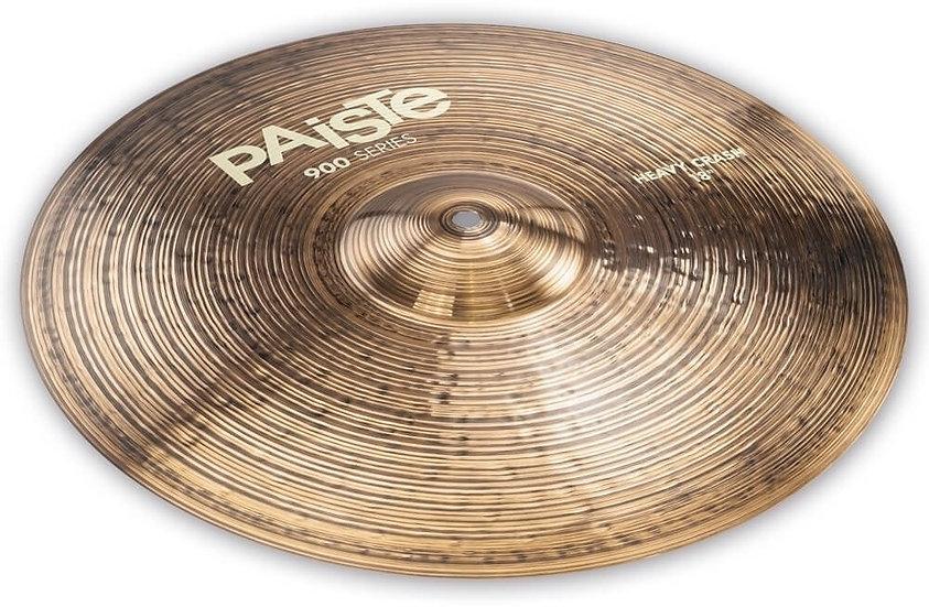 "Paiste 18"" 900 Series Heavy Crash Cymbal"