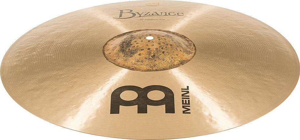 "Meinl Byzance Traditional 21"" Polyphonic Ride Cymbal"