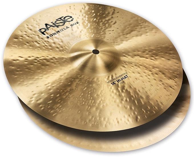 "Paiste 14"" Formula 602 Modern Essentials Hi Hat Cymbals"