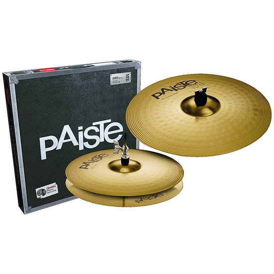 Paiste 101 Brass 2pc Essential Cymbal Set