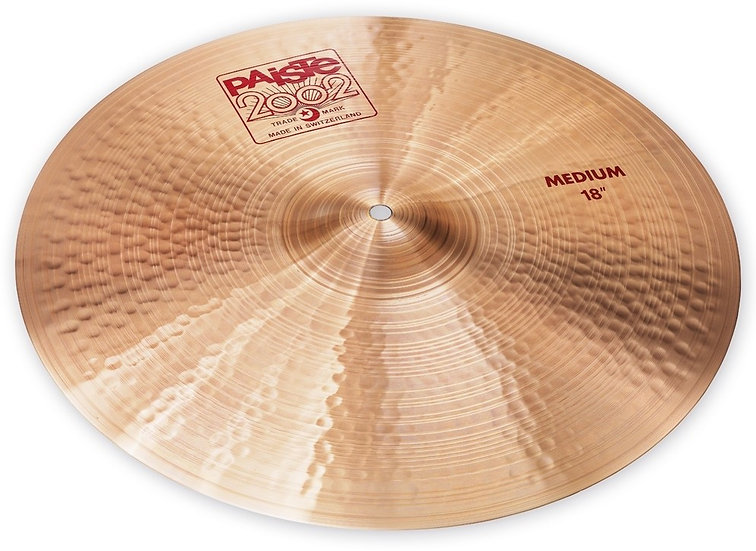 "Paiste 18"" 2002 Medium Cymbal"