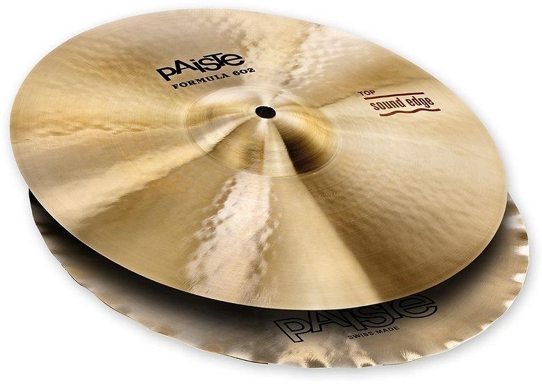 """Paiste 14"""" Formula 602 Classic Sounds Sound Edge Hi Hat Cymbals"""