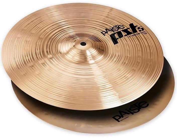 """Paiste 14"""" PST 5 Medium Hi-Hats Cymbal"""